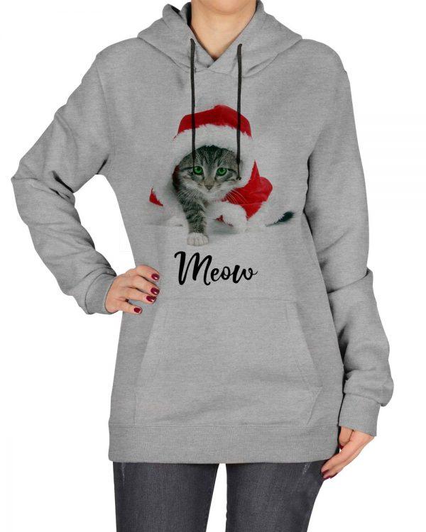 هودی زنانه طرح بچه گربه